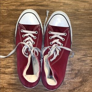 Burgundy | Converse | W11/M9 | Used